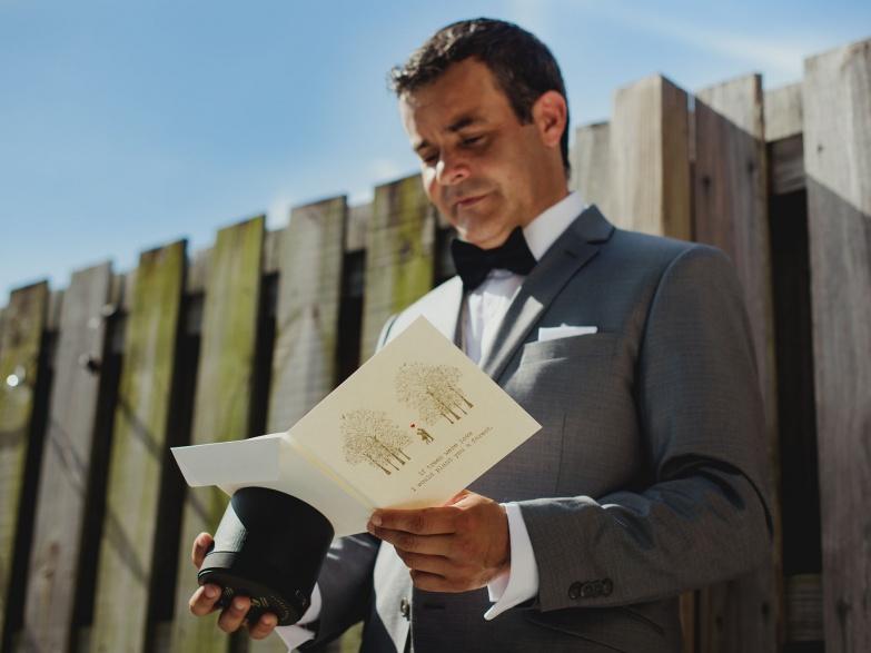Fotos de detalles en una boda imagen